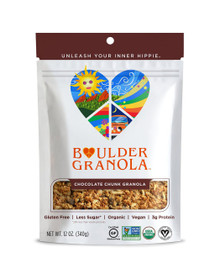 Chocolate Chunk Gluten Free 6 of 12 OZ By BOULDER GRANOLA
