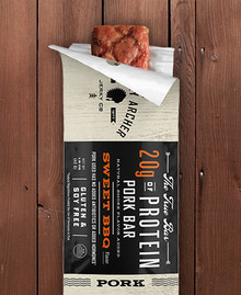 Sweet BBQ Pork 12 of 1.5 OZ By COUNTRY ARCHER