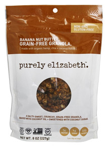 Banana Nut Butter 6 of 8 OZ By PURELY ELIZABETH