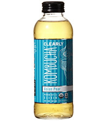 Asian Pear 12 of 14 OZ By CLEARLY KOMBUCHA