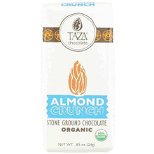 Almond Crunch 20 of .85 OZ From TAZA CHOCOLATE