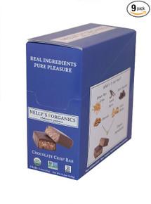 Chocolate Crisp 9 of 1.6 OZ By NELLYS ORGANICS