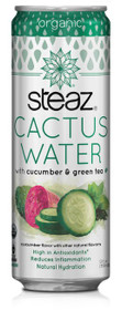 Cactus Water Cucumber 12 of 12 OZ By STEAZ