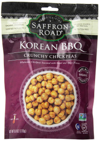 Korean BBQ Chickpeas 8 of 6 OZ From SAFFRON ROAD