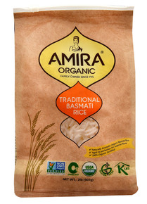 Basmati Rice Traditional 6 of 2 LB By AMIRA