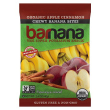 Apple Cinn Chewy Banana Bites 12 of 1.4 OZ By BARNANA