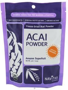 Acai Powder 12 of 4 OZ By NAVITAS NATURALS