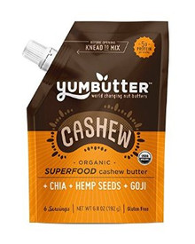 Cashew Butter Superfood 6 of 6.8 OZ By YUMBUTTER