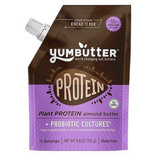 Almond Butter Plant Protein 6 of 6.8 OZ By YUMBUTTER