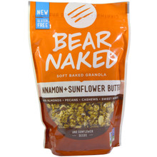 Cinnamon & Sunflower Butter 6 of 11 OZ By BEAR NAKED