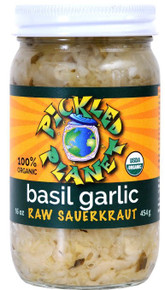 Basil Garlic 6 of 16 OZ By PICKLED PLANET