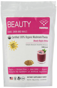 Beauty Hair Skin Nails 3.57 OZ By MUSHROOM MATRIX