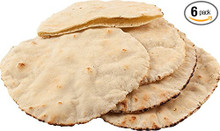 Pita Bread Lebanese Style GF 6 of 13.8 OZ By AGAINST THE GRAIN GOURMET