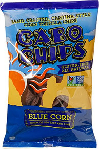Blue Corn with Sea Salt and Lime 12 of 5.5 OZ By CABO CHIPS