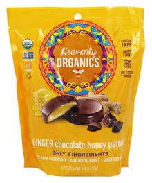 Chocolate Ginger 6 of 4.66 OZ By HEAVENLY ORGANICS