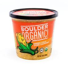 Green Chile Corn Chowder 8 of 24 OZ By BOULDER ORGANIC
