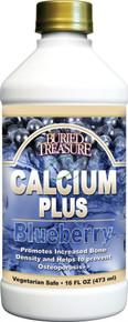 Calcium Plus Blueberry 16 fl oz From Buried Treasure
