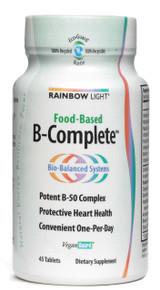 B-Complete Vegetarian Vitamin B Complex 45 tabs Rainbow Light