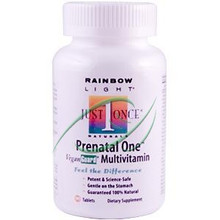 Just Once Prenatal One Multivitamin 90 Tablets From Rainbow Light