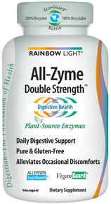 All - Zyme Double Strength 120 + 60 Vcaps From Rainbow Light