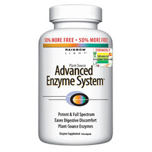 Advanced Enzyme System 60 vegicaps Rainbow Light