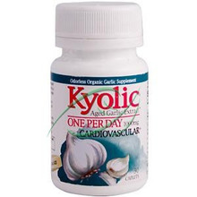 Kyolic Aged Garlic Extract One Per Day 1000 mg 30 Caplets From Wakunaga Kyolic