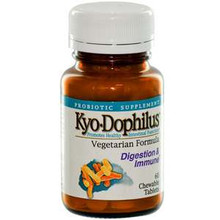 Kyo Dophilus Digestion & Immune 60 Chewable Tablets From Wakunaga Kyolic
