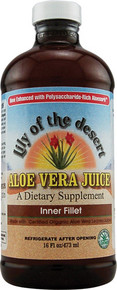 Aloe Vera Juice 16 oz  From Lily Of The Desert
