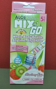 Aloe Mix N Go Strawberry Kiwi 5 CT By Lily Of The Desert