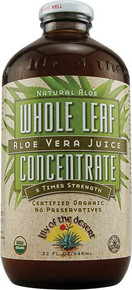 Aloe Vera Juice Whole Leaf Concentrate 32 oz Lily Of The Desert