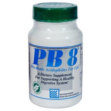 PB 8 Pro-Biotic Acidophilus Vegetarian 60 vegicaps from Nutrition Now