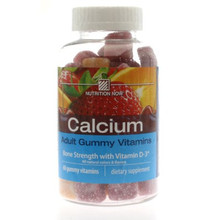 Adult Calcium Gummy Vitamins 60 ct From Nutrition Now