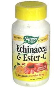 Echinacea & Ester-C 100 Capsules From Nature's Way