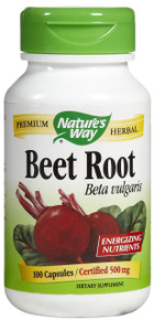 Beet Root 100 Capsules 500 mg From Nature's Way