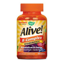 Alive! B-Complex Gummies 60 CT From NATURE'S WAY
