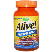Alive! Immune Gummies 90 CHEW From NATURE'S WAY