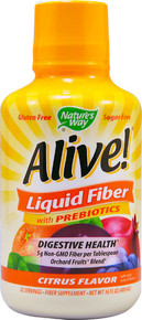 Alive! Liquid Fiber Citrus 16 OZ By Nature'S Way