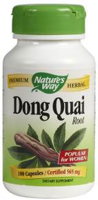 Dong Quai Root 100 Capsules 565 mg From Nature's Way