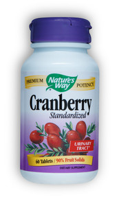 Cranberry Standardized Extract 60 Tablets Nature's Way