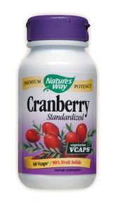Cranberry Standardized Extract 60 Vegicaps Nature's Way