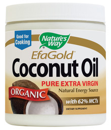 EfaGold Organic Coconut Oil 32 oz Nature's Way