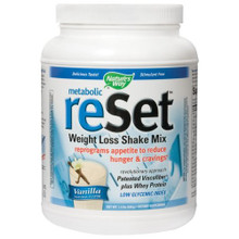 Metabolic Reset Weight Loss Shake Mix Vanilla Flavor 1.4 lbs From Nature's Way