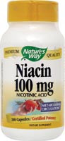 Niacin 100 mg 100 Capsules From Nature's Way