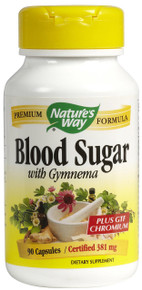 Blood Sugar 90 Capsules From Nature's Way