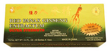 Red Panax Ginseng Extractum Ultra Strength 10.2 oz 30 Bottles From Prince of Peace