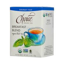 Breakfast Blend 16 BAG By Choice Organic Teas