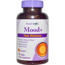 Natrol Mood+ Fast Dissolve Tangerine 30 Tablets