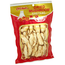 Orchids Shiitake Mushrooms Sliced 1 oz  From Orchids