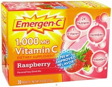 Emer'gen-C Raspberry 30 CT By Alacer