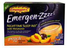 Emer'gen-C ZZZ Peach PM 24 CT By Alacer